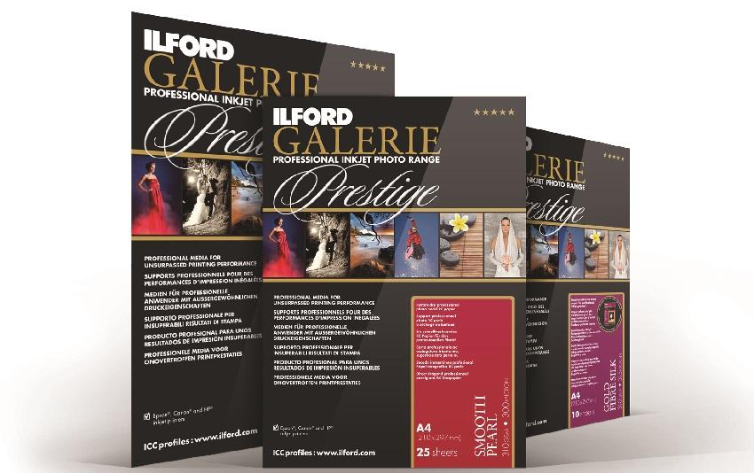 Gamme Papier Ilford, Galerie Prestige, les 3 meilleures ventes