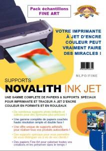 Pack Echantillons Novalith Papiers Fine Art