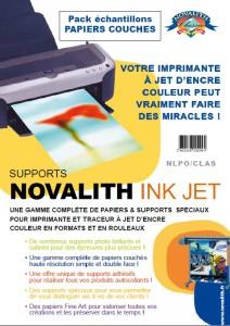 Pack Echantillon Novalith Papiers Couchés