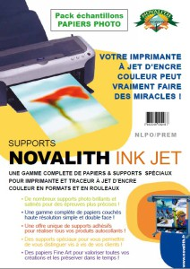Pack Echantillon Novalith Papiers Photo