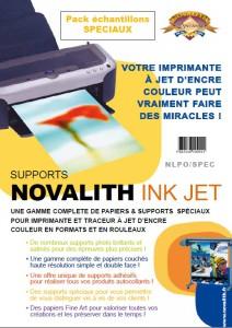 Pack Echantillons Novalith Papiers Spéciaux