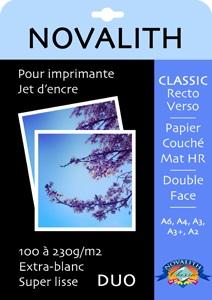 Papier mat Classic Recto Verso Novalith