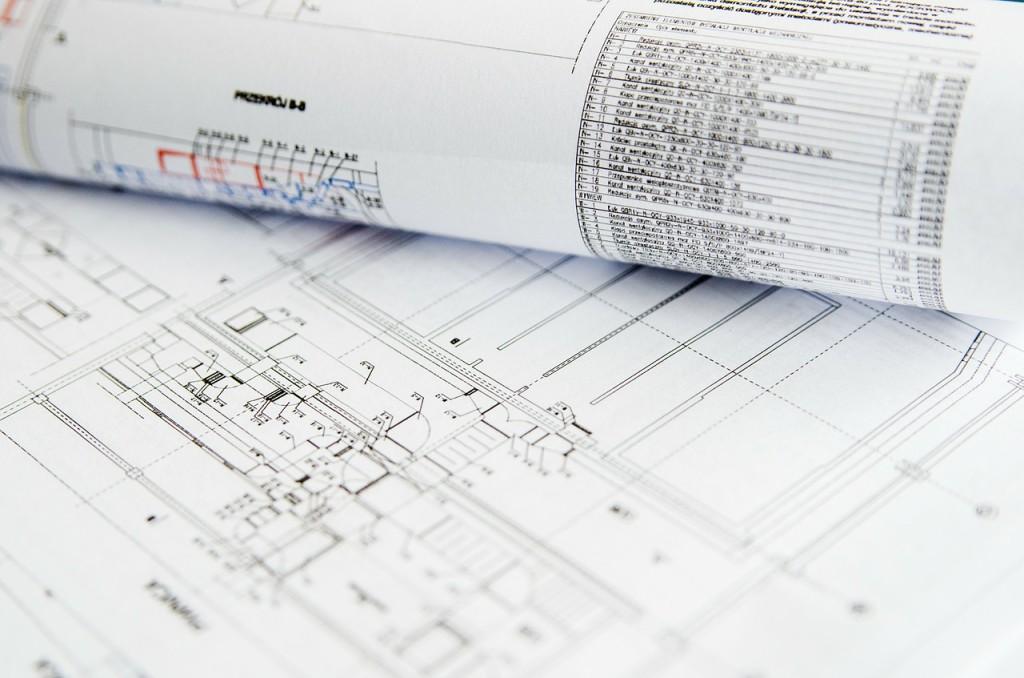 Tracés de plan superbes - dossier papier par métier : architecte
