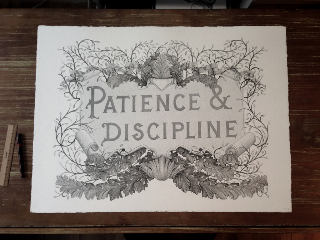 Patience & discipline project by Rémi Boiré et Xavier Casalta